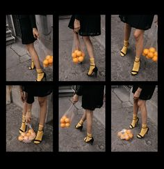 Creative content direction by fashion influencer Beatrice Gutu shoe editorial strappy sandals and oranges in plastic bag aesthetic conceptual photography Source by ZaneMeetsFashion aesthetic Conceptual Photography, Film Photography, Creative Photography, Fashion Photography, Sequence Photography, Photography Aesthetic, Shoes Editorial, Editorial Fashion, Socks And Sandals