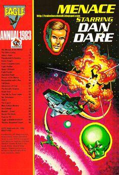 EAGLE (TIRAS DE JORNAL / COMIC STRIP - CLASSIC COMICS) Nº 01 EDIÇÃO ANUAL 1983_2
