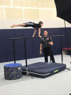 02a708b13024 Warrior Fitness Pbars #MancinoMats #MancinoU #WarriorFitness Thanks Roth's  Crosspoint Gymnastics! Gymnastics Equipment. Mancino Mats