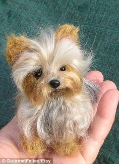 how to make a needle felt animal - Google Search