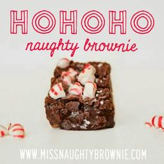 Peppermint brownie