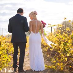 Our bride looks simply stunning in her custom d'Italia bridal gown! Find out more: www.ditalia.com.au #ditalia #melbournefashion #weddingdress #melbournecouture
