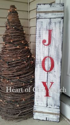 Reversible Give Thanks JOY Fall Thanksgiving Christmas Porch Sign Two Signs in One Hand Painted ~ Wood Christmas Wood Crafts, Christmas Signs Wood, Holiday Signs, Outdoor Christmas Decorations, Rustic Christmas, Christmas Projects, Holiday Crafts, Christmas Diy, Winter Wood Crafts