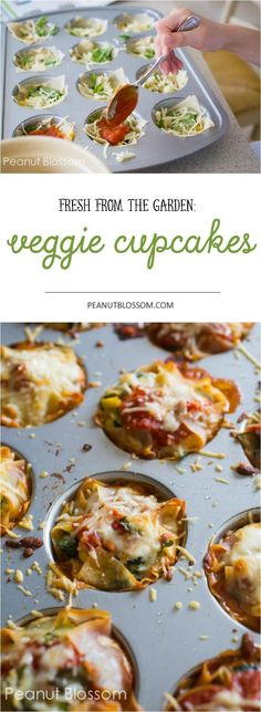 Garden vegetable cupcakes: what an awesome way to sneak some veggies into the kids! My kids said these were the best veggies they ever tasted. yummy.