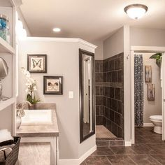 Bath Photos Walk-in Shower Design, Pictures, Remodel, Decor and Ideas - page 20