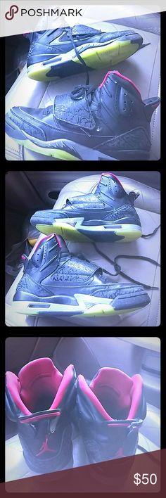 Nike Air Jordan Son of Mars Grey Green GS Nike Air Jordan Son of Mars Grey Green GS 512246-006 Size 6Y Nike Shoes Sneakers