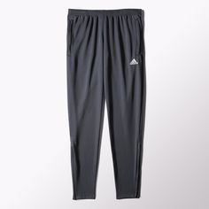 Made from sweat-wicking climalite® fabric, these Core 15 training pants feature ankle zips and a comfortable tapered fit. Adidas Sweatpants, Soccer Outfits, Training Pants, Stay Warm, Jogging, Catwalk, Pants For Women, How To Wear, Core
