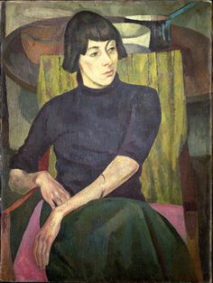 Roger Eliot Fry - Portrait of Nina Hamnett, 1917