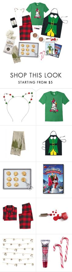 """Excited for Christmas!!!~flat lay"" by pineapplefashion-ar on Polyvore featuring Martha Stewart, PBteen, Ciaté, Studio Mercantile, Hershey's and Chapstick"