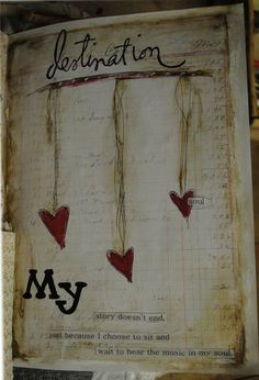 Scrappy goodness / journal page on imgfave