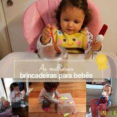 Neste post você encontra as 12 melhores brincadeiras para bebês de 18 a 24 meses feitas no site Tempojunto.