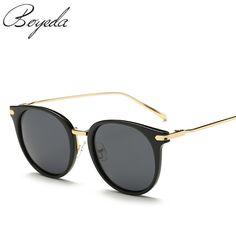 Fashion Butterfly Retro Polarized Women Sunglasses 2017 Brand Designer Vintage Circular Driving Sun Glasses spectacles oculos