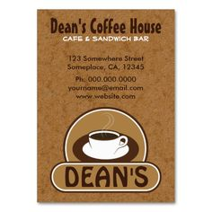287 best coffee shop business cards images on pinterest in 2018 coffee cup coffee shop cafe custom business cards business card templates colourmoves