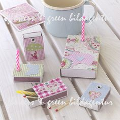 Do it yourself for Mother's Day. Simple idea with matchboxes