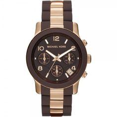 Michael Kors MK5658 Ladies Chocolate Rose Gold Watch