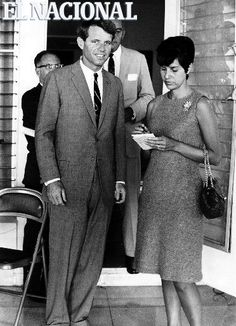 Robert Kennedy durante su visita a Venezuela entrevistado por Mariahe Pabón. (MIGUEL GRILLO / EL NACIONAL)