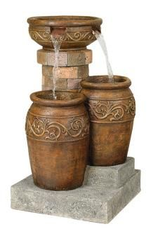 Tuscan Patio Floor Fountain (55499)