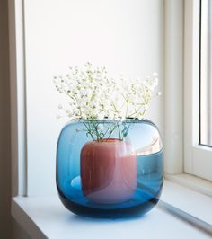 // Multi by Kristine Five Melvaer. Photography by Erik Five Gunnerud Norway Design, Painted Jars, Glass Photo, Scandinavian Interior Design, Ceramic Design, Organic Shapes, Minimal Design, My Flower, Colored Glass
