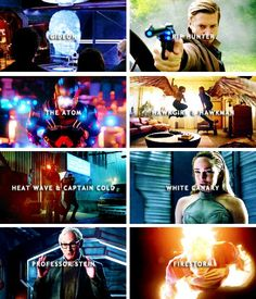 The heroes of DC's Legends of Tomorrow.