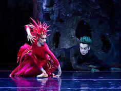 """Firebird"" Misty Copeland dances the title role in the ABT production of ""Firebird."""