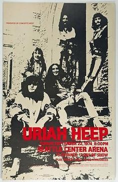 Uriah Heep 1974                                                                                                                                                                                 More
