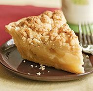 Ginger Apple Crumb Pie by Fine Cooking. The crunchy ginger crumb topping on this pie provides a lovely contrast to the tender apples in the filling. As you cover the pie, keep the topping as clumpy as possible for the most satisfying texture. Apple Desserts, Apple Recipes, Easy Desserts, Dessert Recipes, Healthy Recipes, Baking Recipes, Thermomix Desserts, Baking Tips, Fall Recipes