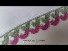 Creative Embroidery, Hand Embroidery, Chrochet, Knit Crochet, Easy Crochet, Saree Kuchu Designs, Knit Shoes, Crochet Videos, Knitted Shawls