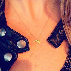 @dakotak923 dogeared state of mind florida necklace