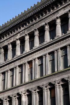 Egyptian Halls, Union Street, Glasgow - Alexander (Greek) Thomson