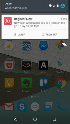 Android: GradeStack