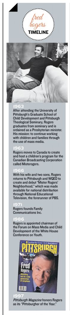 2014 Pittsburgher of the Year Award: The Fred Rogers Company - Pittsburgh Magazine - January 2015 - Pittsburgh, PA