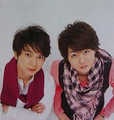Matsumoto Jun + Sakurai Sho 櫻井 翔