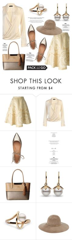 """""""Pack and Go: Cuba!"""" by pearlparadise ❤ liked on Polyvore featuring Société Anonyme, Sigerson Morrison, StyleNanda, Calvin Klein, Eugenia Kim, contestentry, Packandgo, pearljewelry and pearlparadise"""