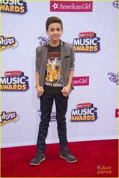 JJ Totah at the Radio Disney Music Awards 2015