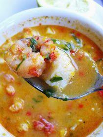 Cocina amiga: Sopa de mariscos - sin leche, sin huevo