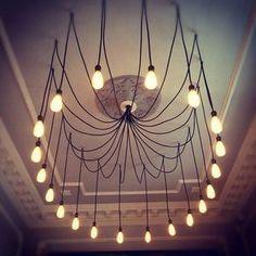 bombillas colgantes lámpara