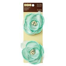 Mint Big Blooms Embellishments By Recollections™ Signature™