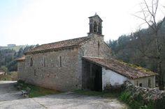 Asturias Iglesia de San Andrés (Valdebárzana)