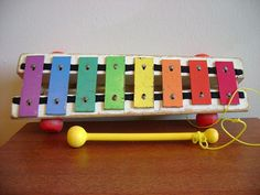 xylophone ...oh yes, my kids loved banging away on this toy