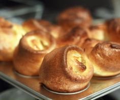 Yorkshire puddings are a staple for a proper British Sunday roast, best enjoyed with gravy. Popovers are a delightful treat for American breakfasts, slathered with butter and jam. Quick quiz: How does a Brit-erican couple figure out these two treasures are the same tasty treat? Answer: One tasty brunch at the Cliff House, and one very confused Brit. (Why would you have Yorkshire puddings for breakfast?!) Since then, I've come to appreciate Yorkshire puddings as a Sunday evening t...