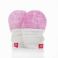 Goumimitts - smart, stay on baby mittens - 1 pack (M/L sketch pink) Goumikids http://www.amazon.com/dp/B00JU65NQ6/ref=cm_sw_r_pi_dp_QlzXvb0PWMV7X  -  paw protectors, indoor mitts.  mia.   lj