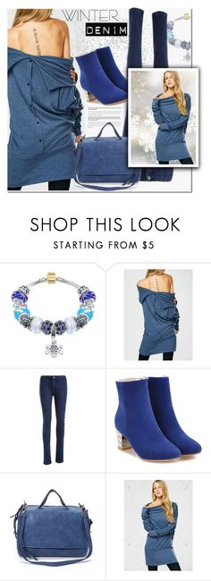 """""""Blue Winter"""" by ansev ❤ liked on Polyvore"""
