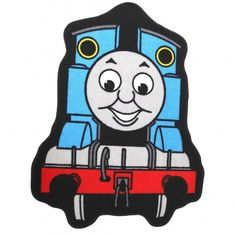 Premium quality floor rug. Fibre: 100% Polyamide. Machine washable. Ideal in a bedroom. Perfect gift for a Thomas The Tank Engine fan.