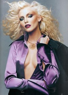 Patrick Demarchelier 1994 - Disco Inspired. Channeling several epochs of my clublife over the decades ...