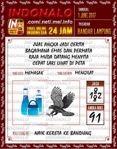 Colok JP 2D Togel Wap Online Indonalo Bandar Lampung 1 Juni 2017