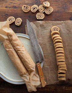 Peanut-Butter Chocolate Swirls - http://blog.williams-sonoma.com/cookie-of-the-day-peanut-butter-chocolate-swirls/