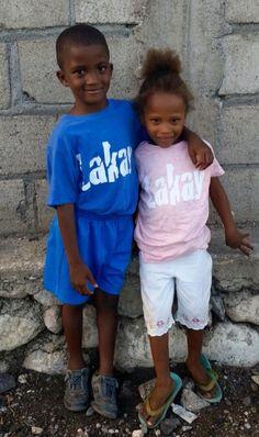 Lakaywear kids in Camp Perrin, Haiti