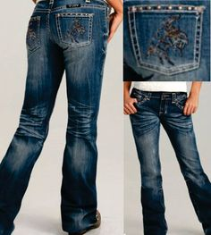Cowgirl Tuff Bronc Jeans