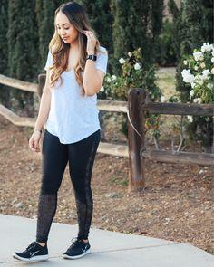 Top: Lululemon; Pants: Victoria Sport; Shoes: Nike #workout