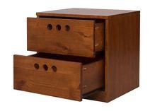Que tal uma mesa de cabeceira que além de ajudar na organização do seu quarto, ainda arrasa no design e estilo? O Criado-Mudo 2 Gavetas Confetti faz isso muito bem, obrigada.